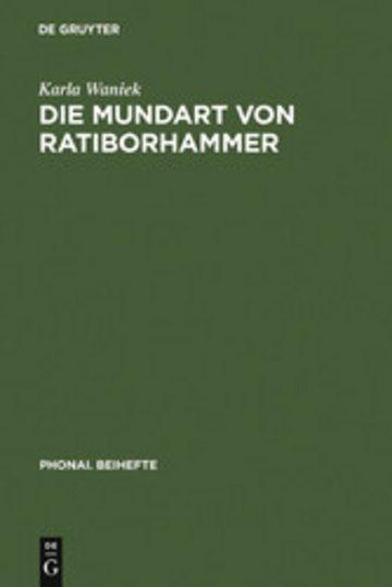 eBook Die Mundart von Ratiborhammer Cover