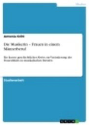 eBook Die Musikerin - Frauen in einem Männerberuf Cover