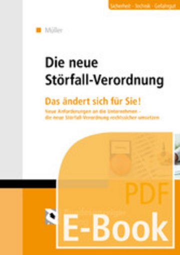 eBook Die neue Störfallverordnung (E-Book) Cover