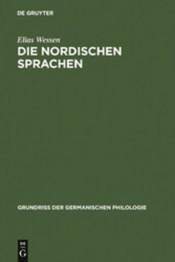 eBook Die nordischen Sprachen Cover