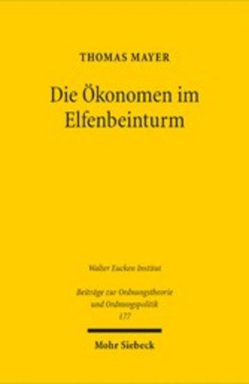 eBook Die Ökonomen im Elfenbeinturm Cover