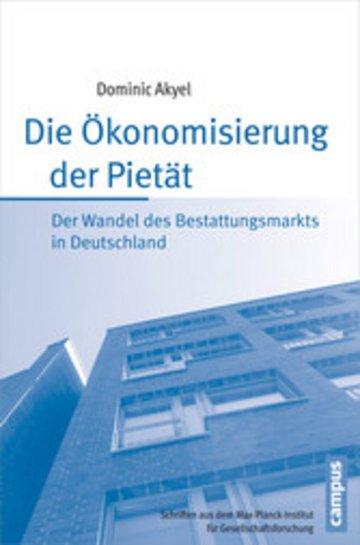 eBook Die Ökonomisierung der Pietät Cover