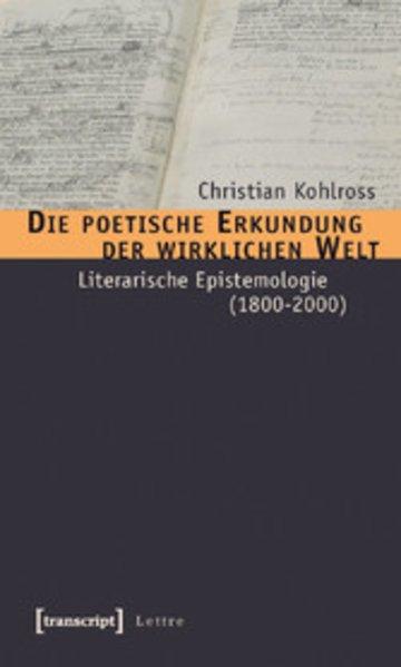 eBook Die poetische Erkundung der wirklichen Welt Cover