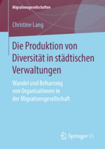 eBook Die Produktion von Diversität in städtischen Verwaltungen Cover