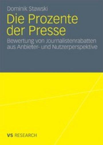 eBook Die Prozente der Presse Cover