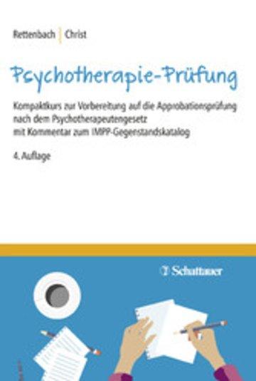 eBook Die Psychotherapie-Prüfung Cover