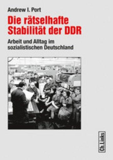 eBook Die rätselhafte Stabilität der DDR Cover