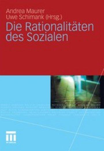 eBook Die Rationalitäten des Sozialen Cover