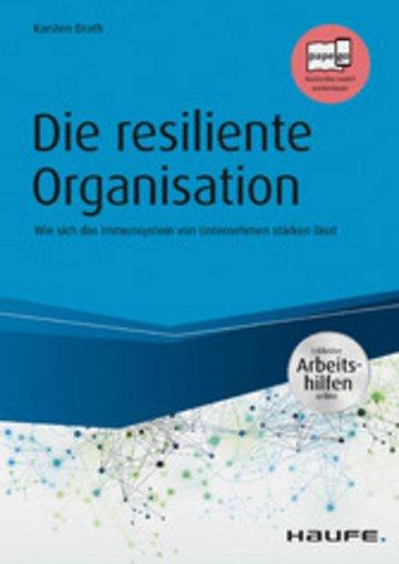 eBook Die resiliente Organisation - inkl. Arbeitshilfen online Cover