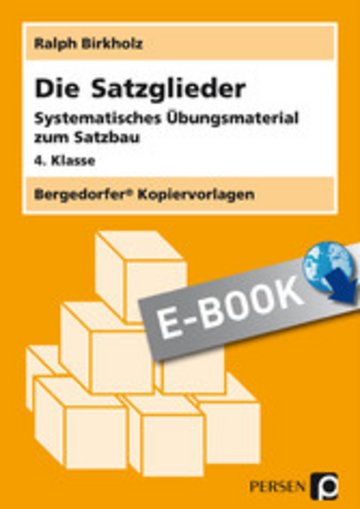 eBook Die Satzglieder Cover