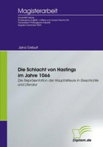 eBook Die Schlacht von Hastings im Jahre 1066 Cover