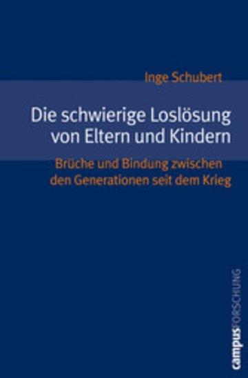 eBook Die schwierige Loslösung von Eltern und Kindern Cover