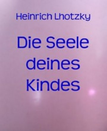 eBook Die Seele deines Kindes Cover