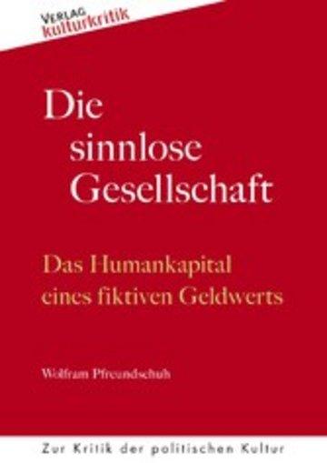 eBook Die sinnlose Gesellschaft Cover
