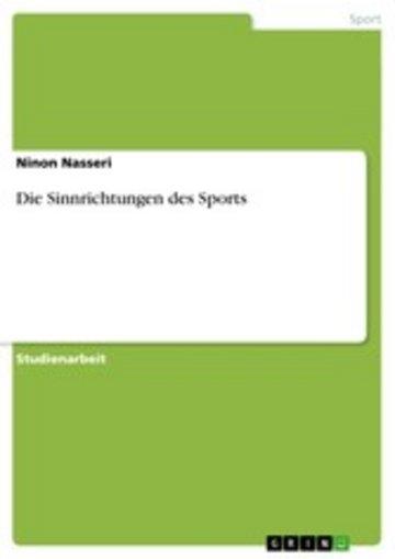 eBook Die Sinnrichtungen des Sports Cover