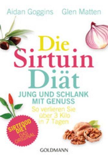 eBook Die Sirtuin-Diät - Jung und schlank mit Genuss Cover