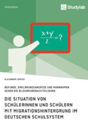 eBook Die Situation von Schülerinnen und Schülern mit Migrationshintergrund im deutschen Schulsystem Cover