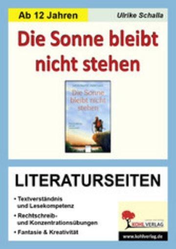 eBook Die Sonne bleibt nicht stehen - Literaturseiten Cover