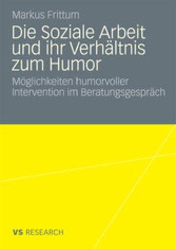 eBook Die Soziale Arbeit und ihr Verhältnis zum Humor Cover