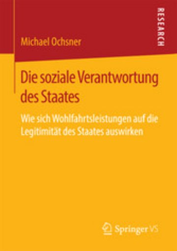 eBook Die soziale Verantwortung des Staates Cover