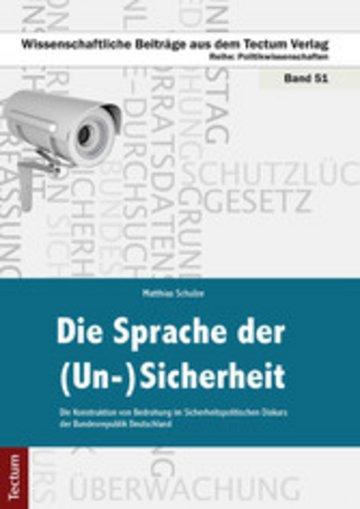 eBook Die Sprache der (Un-)Sicherheit Cover