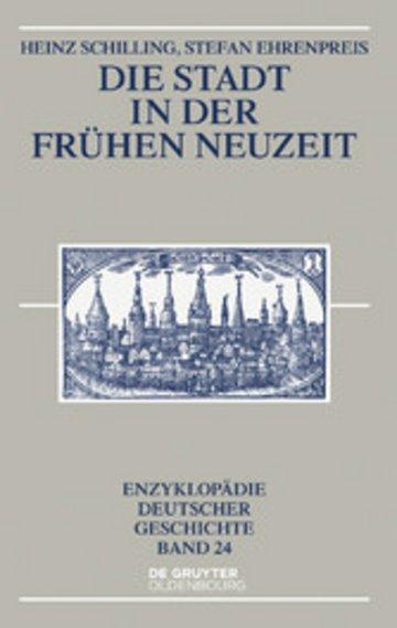 eBook Die Stadt in der Frühen Neuzeit Cover