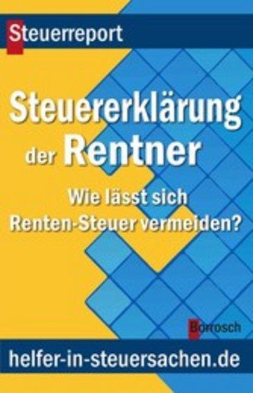 ebook die steuererklrung der rentner cover - Steuererklarung Rentner Muster