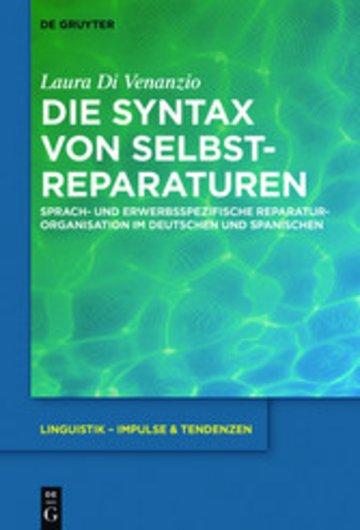 eBook Die Syntax von Selbstreparaturen Cover