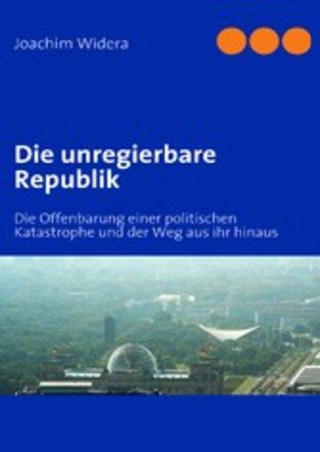 eBook Die unregierbare Republik Cover