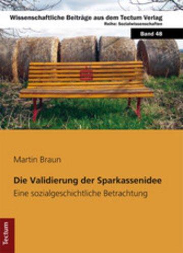 eBook Die Validierung der Sparkassenidee Cover