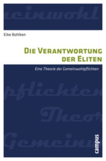 eBook Die Verantwortung der Eliten Cover