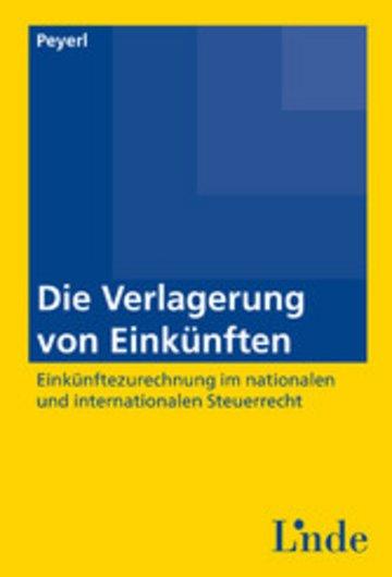 eBook Die Verlagerung von Einkünften Cover