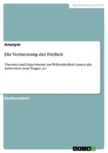 eBook Die Vermessung der Freiheit Cover