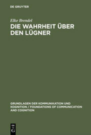 eBook Die Wahrheit über den Lügner Cover