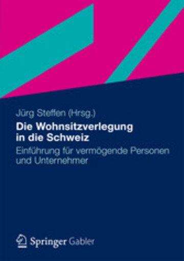 eBook Die Wohnsitzverlegung in die Schweiz Cover