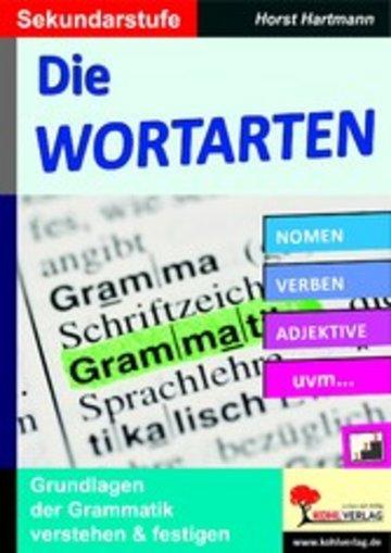 eBook Die Wortarten / Sekundarstufe Cover