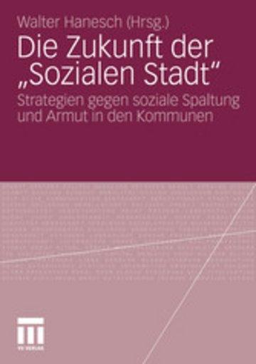 eBook Die Zukunft der 'Sozialen Stadt' Cover