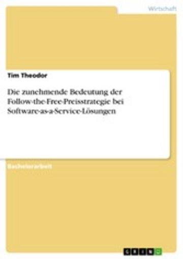 eBook Die zunehmende Bedeutung der Follow-the-Free-Preisstrategie bei Software-as-a-Service-Lösungen Cover