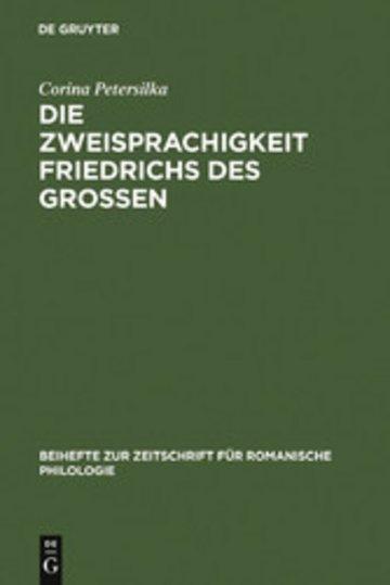 eBook Die Zweisprachigkeit Friedrichs des Großen Cover