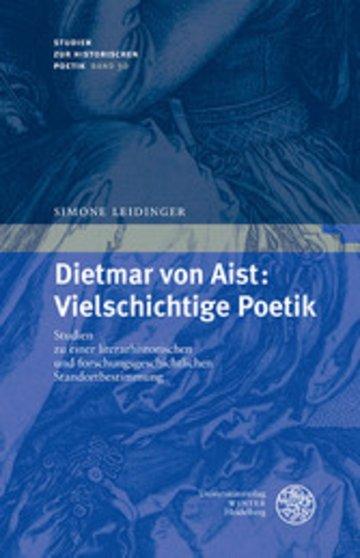 eBook Dietmar von Aist: Vielschichtige Poetik Cover