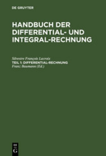 eBook Differential-Rechnung Cover
