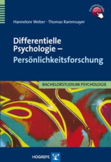 eBook Differentielle Psychologie – Persönlichkeitsforschung Cover