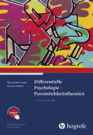 eBook Differentielle Psychologie – Persönlichkeitstheorien Cover