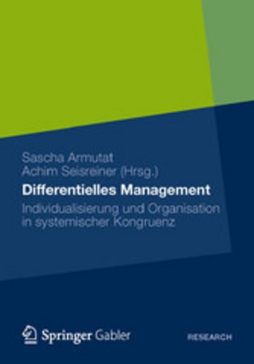 eBook Differentielles Management Cover