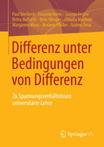 eBook Differenz unter Bedingungen von Differenz Cover