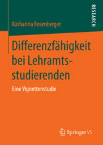 eBook Differenzfähigkeit bei Lehramtsstudierenden Cover