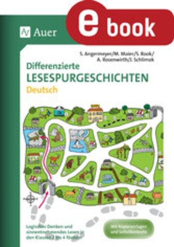 eBook Differenzierte Lesespurgeschichten Deutsch Cover