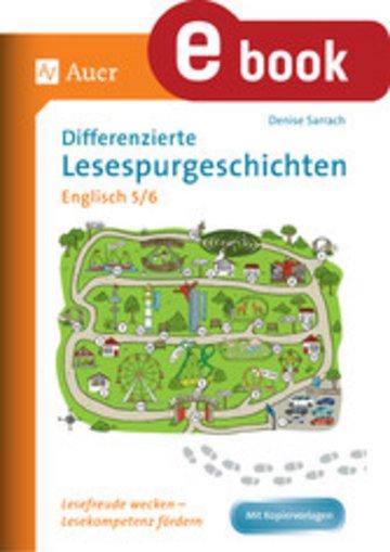 eBook Differenzierte Lesespurgeschichten Englisch 5-6 Cover