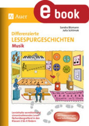 eBook Differenzierte Lesespurgeschichten Musik Cover