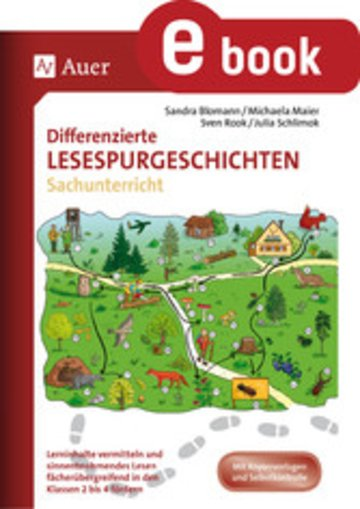 eBook Differenzierte Lesespurgeschichten Sachunterricht Cover